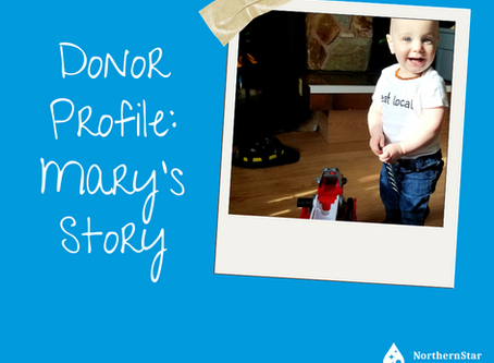 Donor Profile: Mary's story