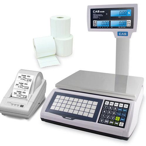 CAS S-2000JR With Pole Optional Printer