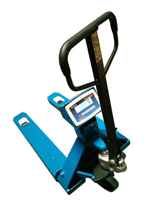 Optima OP-918 Pallet Jack with Scale
