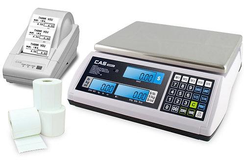 CAS S-2000JR with Optional Printer