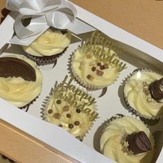 Happy Birthday gold cupcakes .jpg