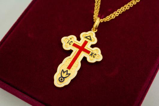 Camrose & Kross Cross Necklace