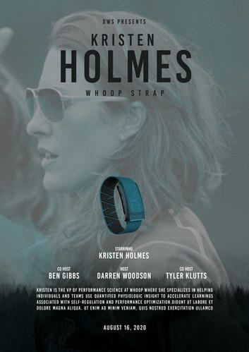 Kristen Holmes #43
