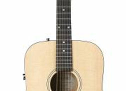 Simon and Patrick Woodland Concert Dreadnought Guitar w/QIT and Bag