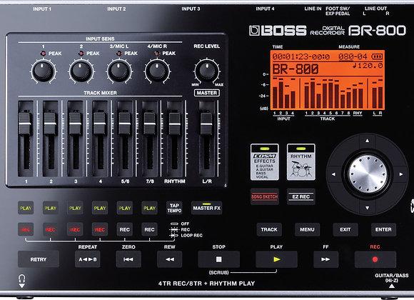 BOSS BR-800 - 8-Track Digital Recorder
