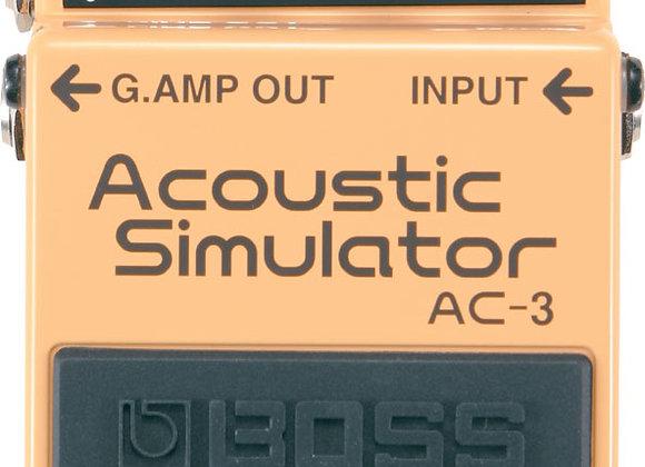 BOSS Acoustic Simulator