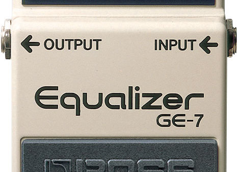 BOSS Graphic Equalizer