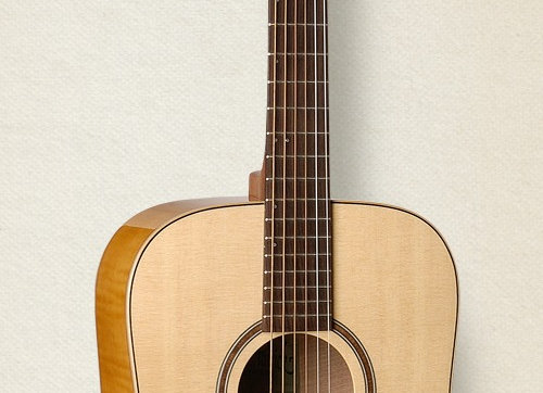 S&P Showcase Flame Maple A6T with Deluxe TRIC Case