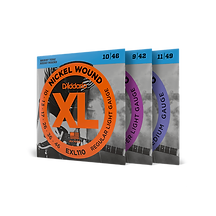 D'Addario EXL- Nickel Wound Electric Strings