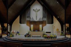 inside church DARK