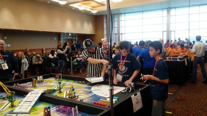 St B School Robotics Team Sponsored by Knights