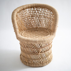 E-boho chair is paired with a bucket