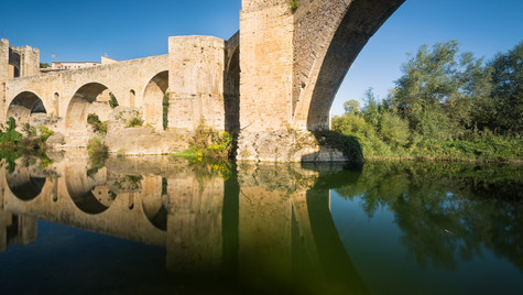 Besalu Bridge, Spain