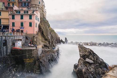 Parque Nacional Cinque Terre - Riomaggiore, Italia