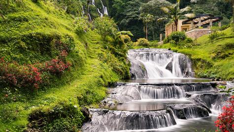 Santa Rosa de Cabal Waterfall, Colombia