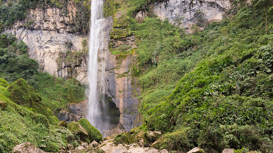 Tisquizoque Waterfall, Colombia