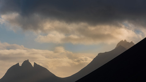 Vesturhorn Mountain, Iceland