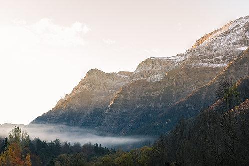 Valle de Pineta - Parque Nacional Natural Ordena y Monte Perdido España