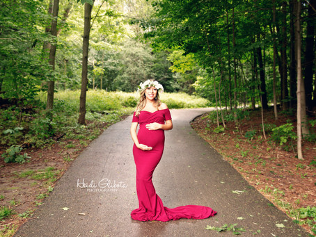 Outdoor Maternity Session M & A