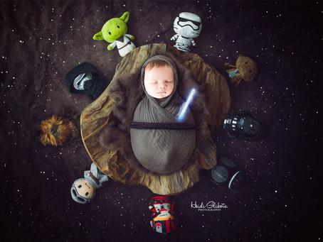 Newborn Liam's Session