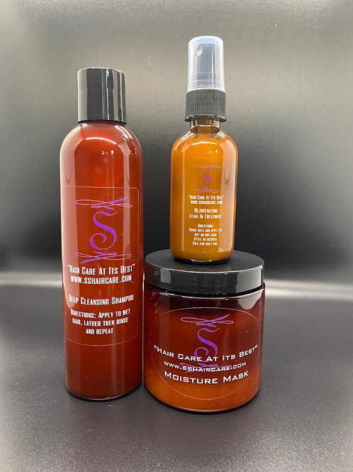 3 Sets of The SS Hair Care System