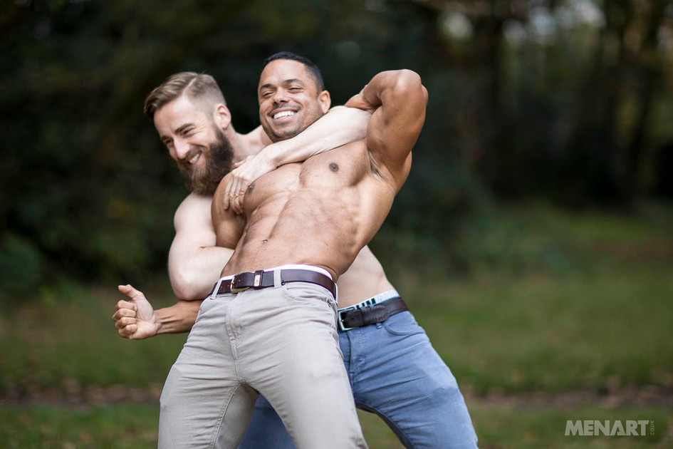 Andy Palmer and Julian Osb