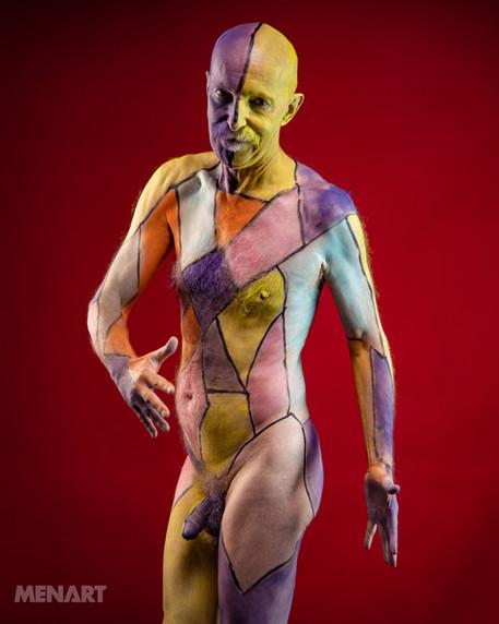 Ian - Body paint