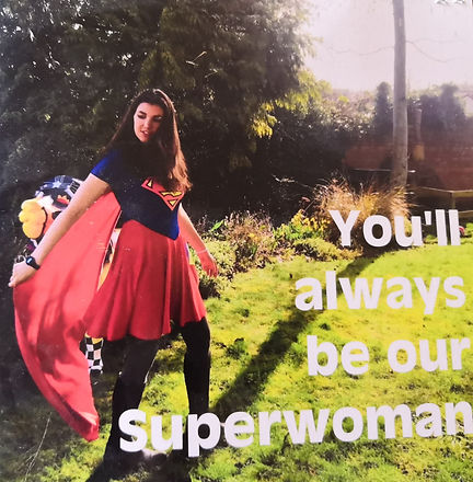 You'll always been our Superwomen photo.