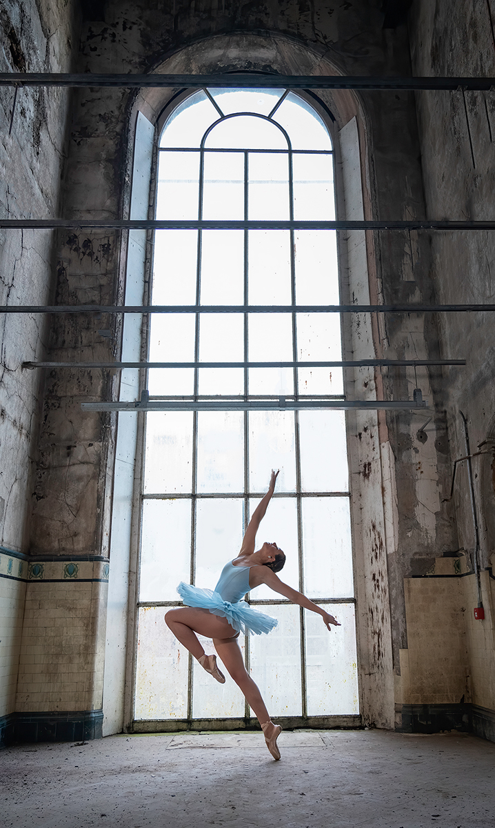Ballet through the Tall Window
