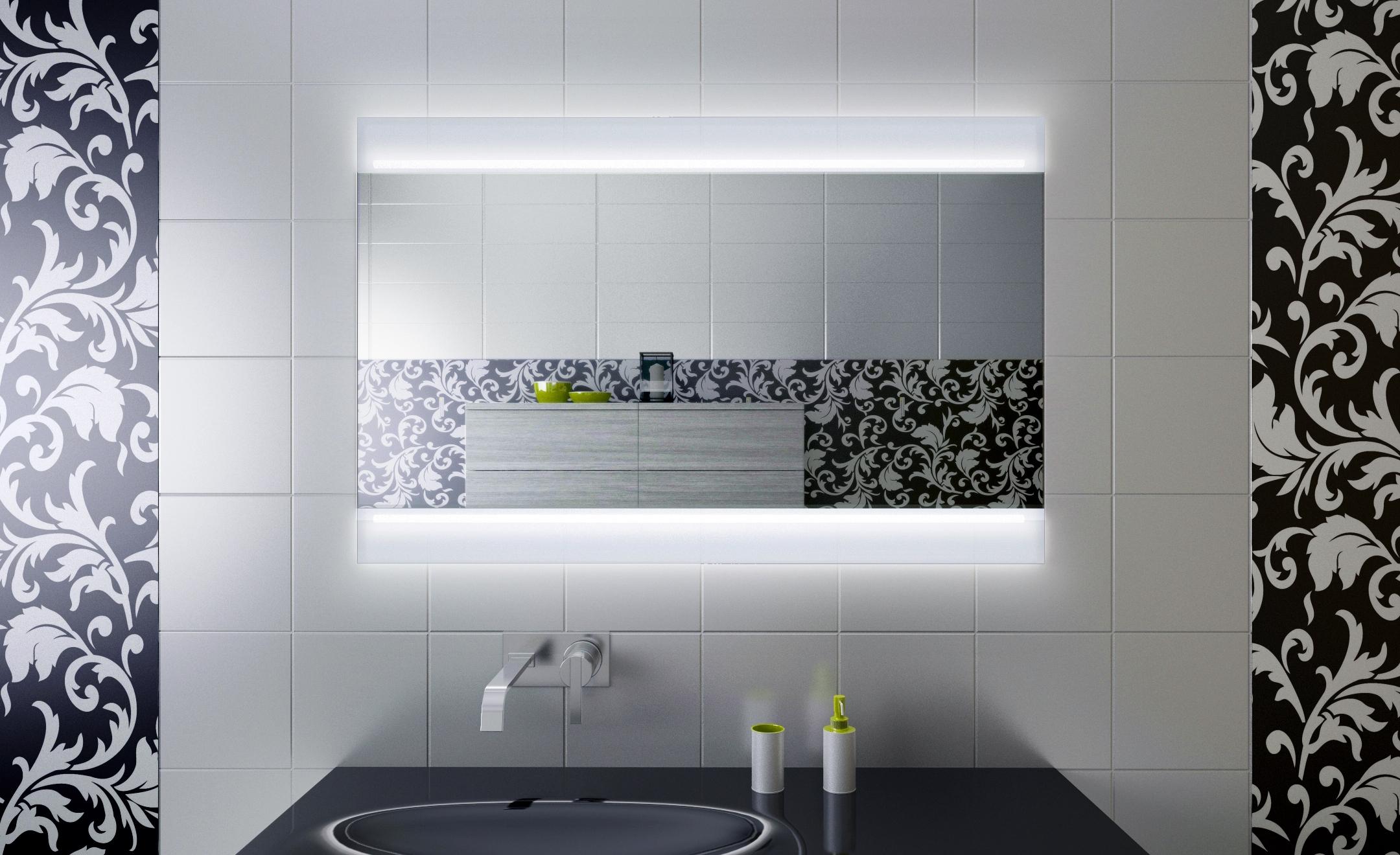 Зеркало с диодной подсветкой
