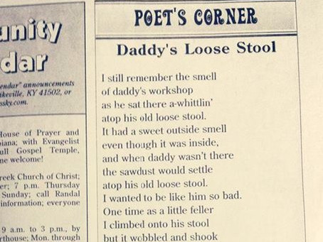 I Got My Local Paper To Publish A Poem That's Obviously About Diarrhea