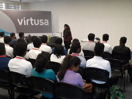 Recruitment Program at Virtusa in collaboration with JIAT