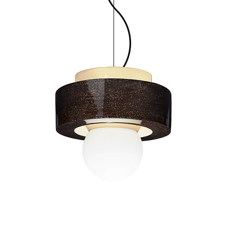 Designed by Studio HAOS. Pendant light available in 4 colors and 3 sizes.