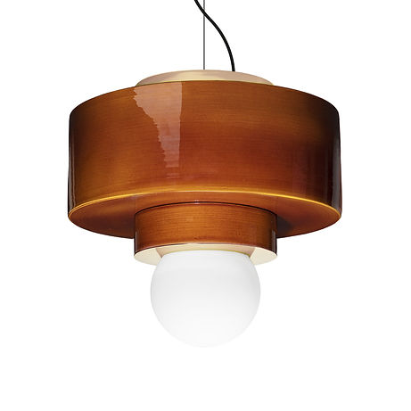Designed by Studio HAOS. Pendant light available in 4 color.