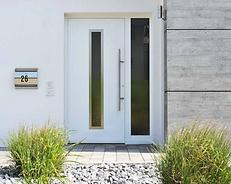 Witte Aluminium voordeur