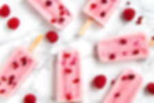 ラズベリーアイスキャンディー