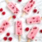 Raspberry Popsicles