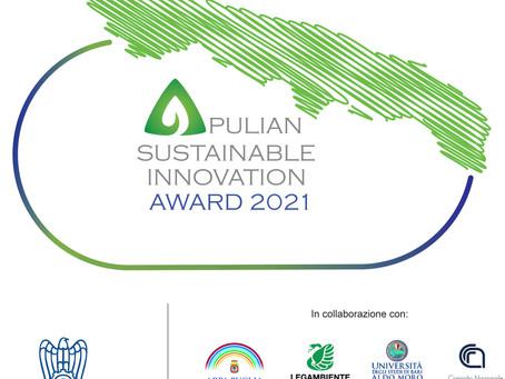APULIAN SUSTAINABLE INNOVATION AWARD 2021
