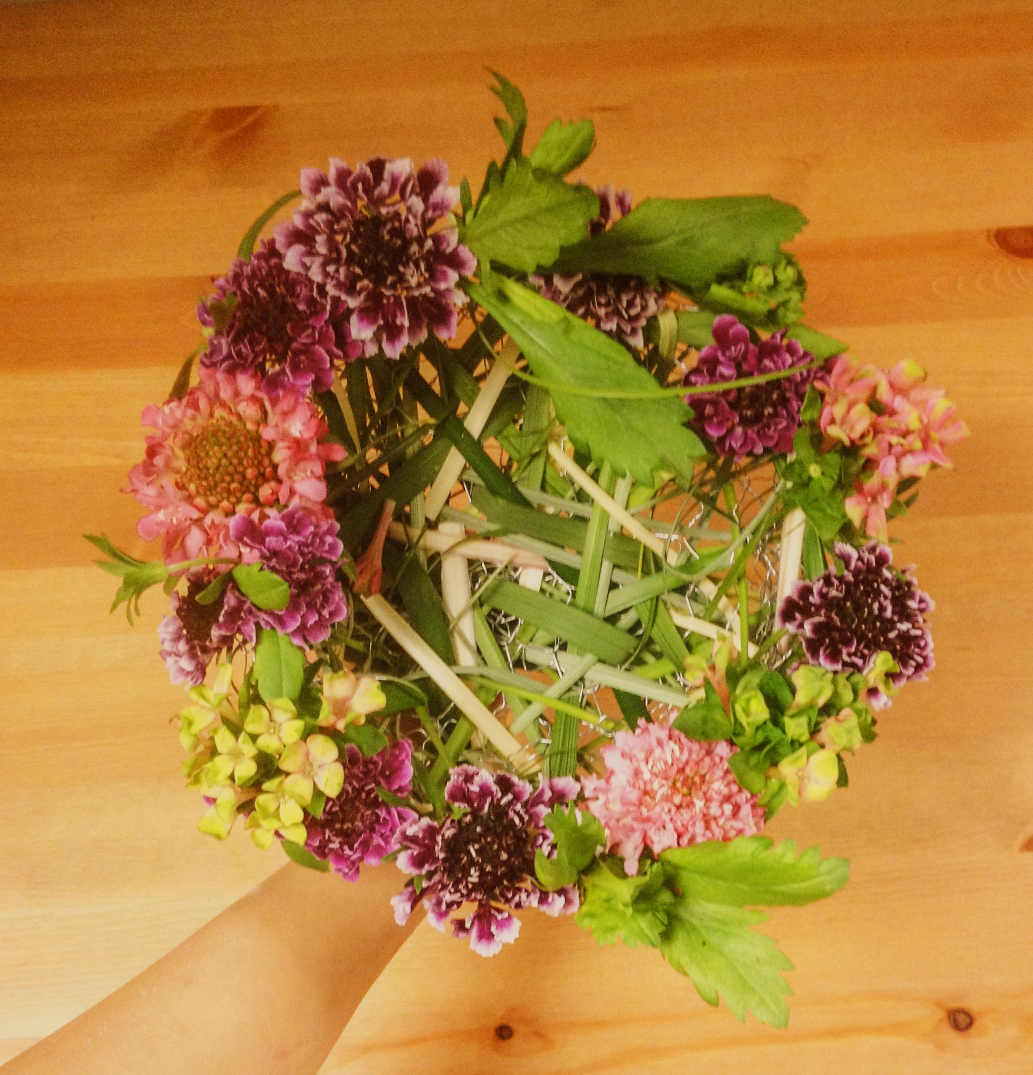 Birdnest bouquet