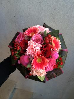 Crimson bouquet