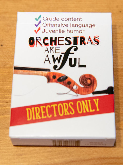 Orchestra Directors Only Expansion Deck