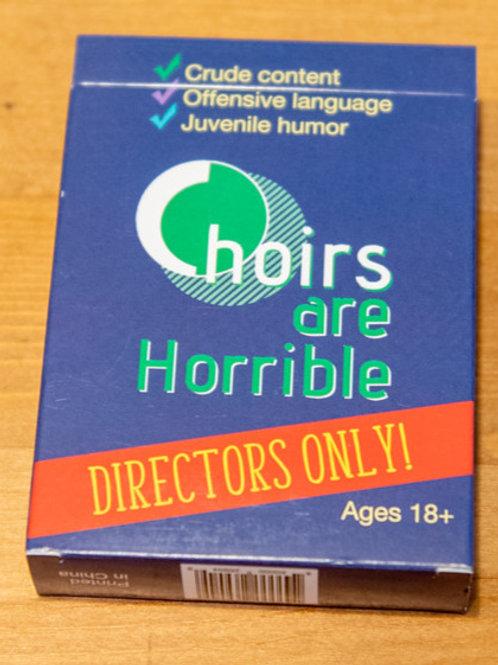 Choir Directors Only Expansion Deck