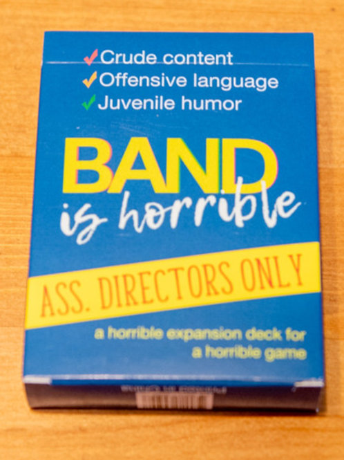 Band Ass. Directors Only Expansion Deck