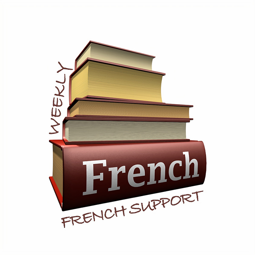 Weekly French Support - 2 Hour French Support