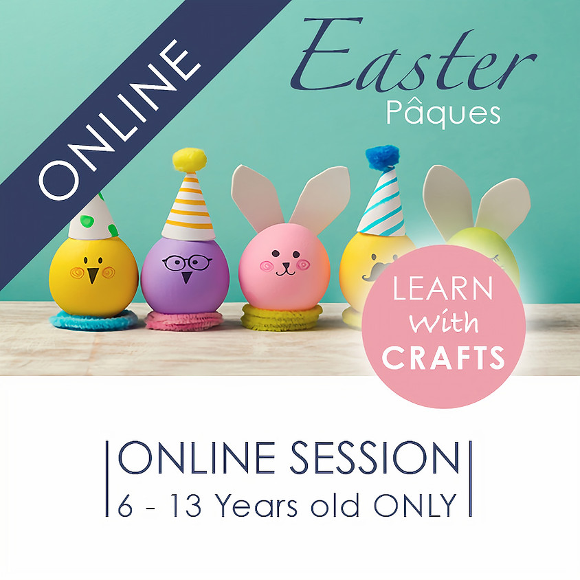 EASTER - 90 Minutes ONLINE French Cultural Event
