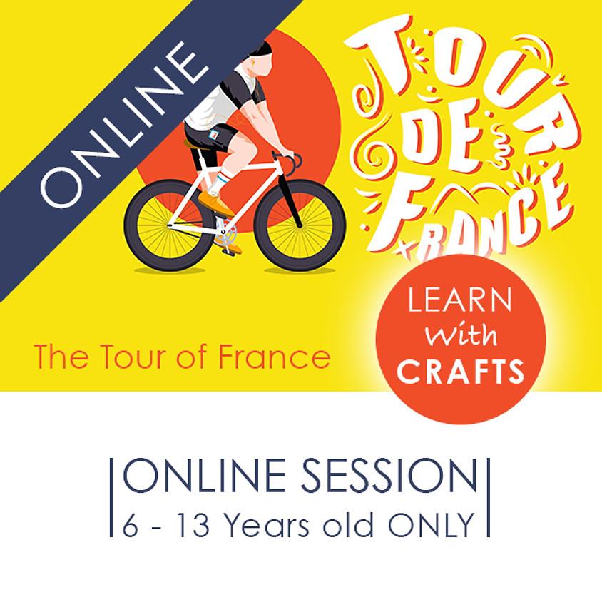 TOUR de FRANCE - 90 Minutes ONLINE French Cultural Event