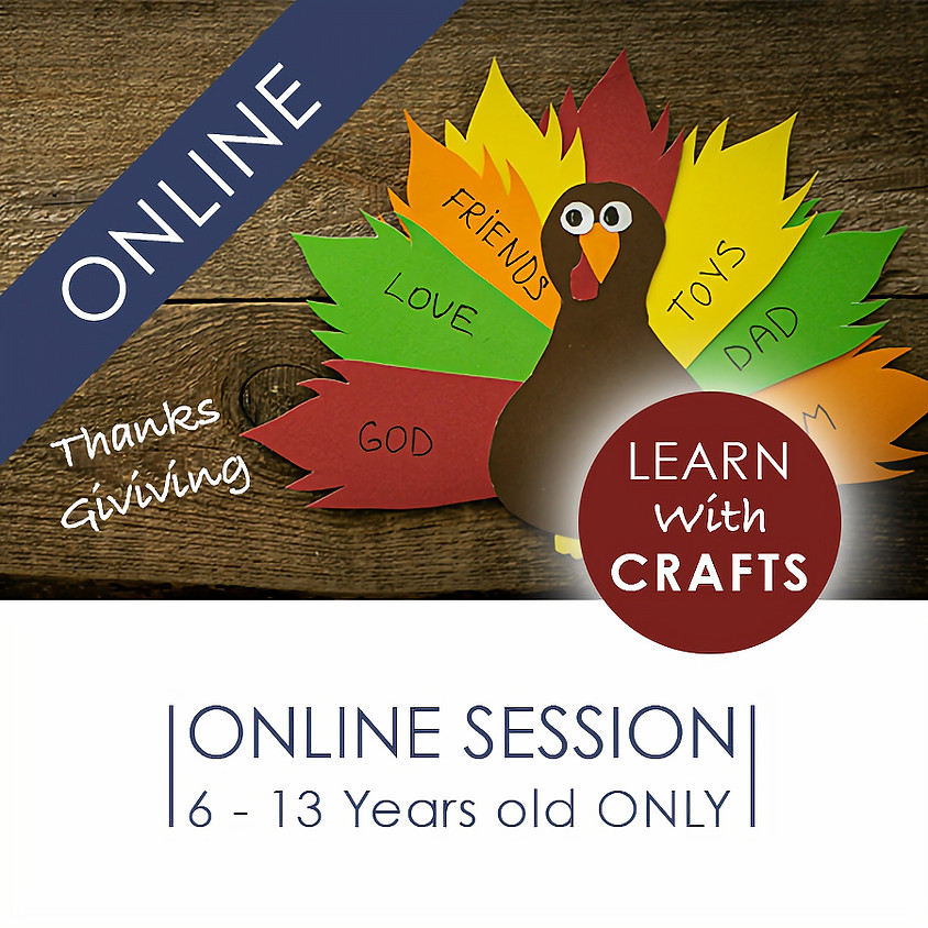 THANKSGIVING - 90 Minutes ONLINE French Cultural Event