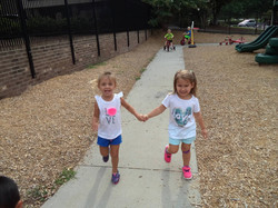 blakely and allie hand hold