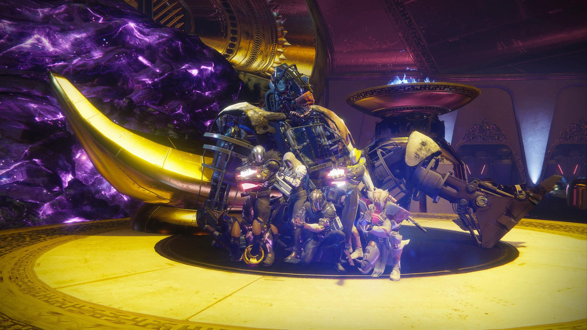 Calus is Schorched