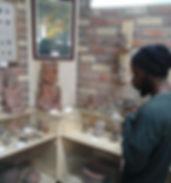 Gahiji Akil Reiki Mastered teacher in Ecuador Museum